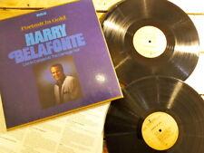 HARRY BELAFONTE LIVE IN CONCERT CARNEGIE HALL 2LP 33T VINYLE EX COVER EX OR 1979