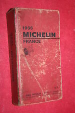 GUIDE MICHELIN ROUGE 1966