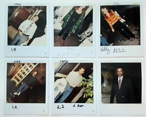 Married with Children lot of 14 original wardrobe continuity photos polaroids