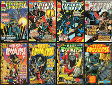 Rise of Apocalypse #1-4. Cyclops & Phoenix #1-4 Origin Mr. Sinister & Apocalypse