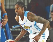 Jessica Breland Signed 8x10 Photo Wnba Chicago Sky Basketball Free Shipping