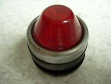 Leuchtmelder Signalleuchte Lampe Red Glass Lights Steuerkasten Steuerung Zippo
