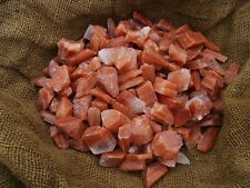500 Carat Lots of Unsearched Natural Red Calcite Rough + a FREE Faceted Gemstone