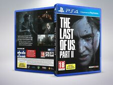 The Last of Us Part II - PAL - PS4 - Replacement Cover / Case (NO Game)