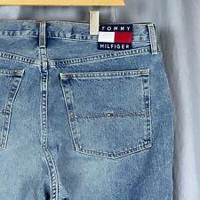 Tommy Hilfiger Denim Jeans 40x31 Vintage Flag Logo Five Pocket