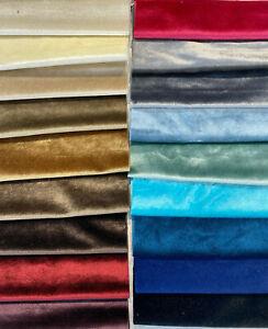 Hanger Sample  Exclusive Velveteen Velvet Drapery Upholstery
