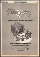 Jim Henson's_MUPPET BABIES__Original 1986 Trade print AD_poster_TV promo__Marvel