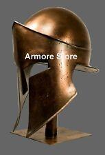 Royal Greek Corinthian Helmet Armor Medieval Knight Spartan With Stand Handmade