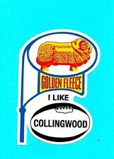 GOLDEN FLEECE I LIKE COLLINGWOOD Decal Sticker PETROL PROMO afl vfl THE MAGPIES
