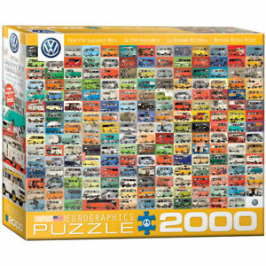 "Volkswagen Bus The VW Groovy Bus 26"" x 38"" 2000 Piece Puzzle 331150"