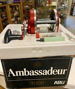 Vintage Abu Ambassadeur 9000 Boxed