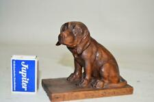 19thc Black forest ANTIQUE hand carved wood mint condition 5.0 in