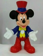 "Vintage Pvc posable 4"" Mickey Mouse Figure Disney Epcot M-112"
