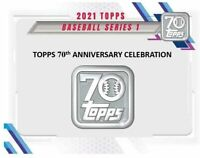2021 Topps Series 1 Baseball 7 Pack Blaster Box Pre-Sale