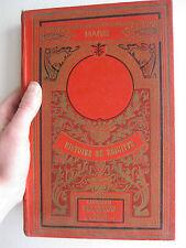 fin 19ème Histoire de Brigitte Comtesse Marie Conte de Fées Cartonnage éditeur