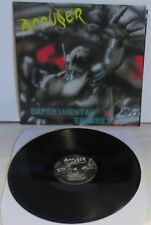 Accuser Experimental Errors LP Black Vinyl Record new Thrash Metal