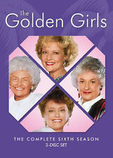 The Golden Girls: The Complete Sixth Season [New DVD] 3 Pack, Repackaged