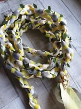 Handfasting ribbon lace Cord Wedding Hand fasting Binding Cord love grey cream