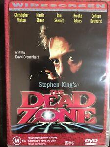 The Dead Zone -STEPHEN KING MOVIE DVD - 1980s_RARE VINTAGE PRINT
