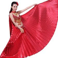 UK NEW Egyptian Shiny Belly Dance Wings Costume Fancy Isis Wings & Stick & Bag