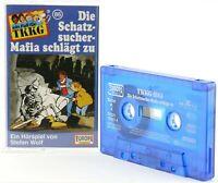 TKKG 86 Die Schatzsucher Mafia schlägt zu Hörspiel  MC blau Kassette Europa -