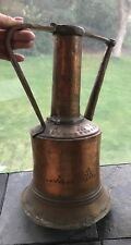 Beautiful Circa 17-1800's Hammered Copper Watering Can