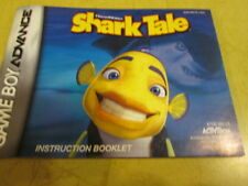 INSTRUCTION BOOKLET FOR GAME BOY ADVANCE GAME  SHARK TALE