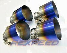 REXPEED Titanium Blue Tips for NISSAN GTR R35