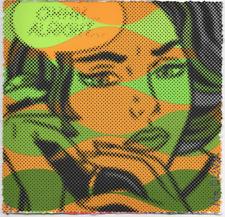 MR CLEVER ART OHHH ALRIGHT ORANGE 1/1 UNIQUE Contemporary street urban pop art