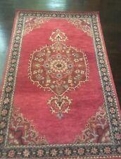 Pottery Barn Aamir Wool 5x8 Rug Carpet Christmas Red NWT $699++