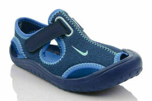 Nike Sunray Protect PS Kids Sandals Blue 903631 400