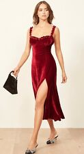Reformation Pyreneese Crimson Dress Size 0