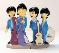 The Beatles! Animated Cartoon Salt & Pepper Shakers, Apple Corps. Retired. NIB!