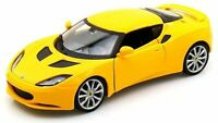 MOTOR MAX 79313Y or 79313R LOTUS EVORA S diecast model car yellow or red 1:24th