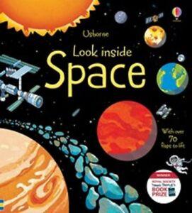 Brand New Usborne Look Inside: Look Inside Space by Rob Lloyd Jones