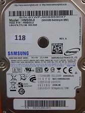 500 GB Samsung HM500JI / 2009.09 / PCB: M7S2_S1PME REV.04 #118