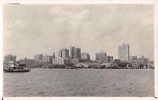"1930""s? RPPC Ferry & Skyline Jacksonville FL"