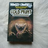 COLD PRINT Ramsey Campbell 1987 Thriller Suspense Horror Alligator CROCODILE PB