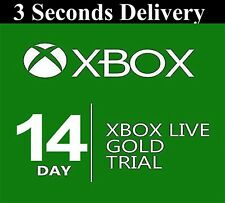 XBOX LIVE 14 day GOLD TRIAL Membership CODE INSTANT DISPATCH 2 weeks 14 days