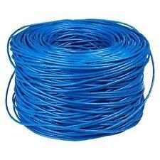 CAT 5 ETHERNET LAN CABLE 100M 100 METER 333FT BOXPACK BLUE 70% Copper 30% Al