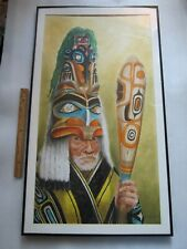 Original Keller Richard A Northwest Coast Canada First Nations Tlingit Painting