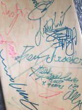 Mike Mc Steve Cab Danny Way Duane Peters X Games 2013 Skateboard Deck Autographs
