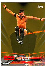 2018 Topps WWE Then Now Forever #131 Finn Balor SSP GOLD #03/10 MADE-FREE S/H