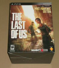 The Last of Us Post Pandemic Limited Collectors Edition PS3 - NO COMIC - Rare