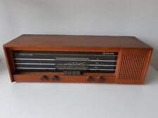 Philips 22 RB 463 Tube Broadcast Receiver Radio wooden case
