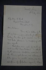 1887 *SIGNED* Edmund Alton Author of 'Among the Lawmakers'