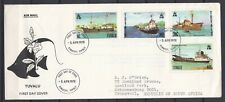 Tuvalu 1978 Ships Set on FDC Airmail to South Africa
