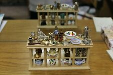 DOLLS HOUSE ( Handcrafted Antique  Shop Counter