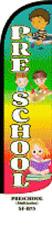Preschool Windless Swooper Flag Sign