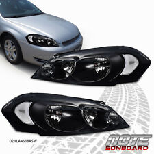 Fit For 06 07 Monte Carlo 09 13 Chevy Impala Headlights Replacement Headlamps Fits 2006 Impala